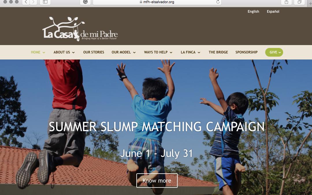 Nuestro Nuevo Sitio Web!