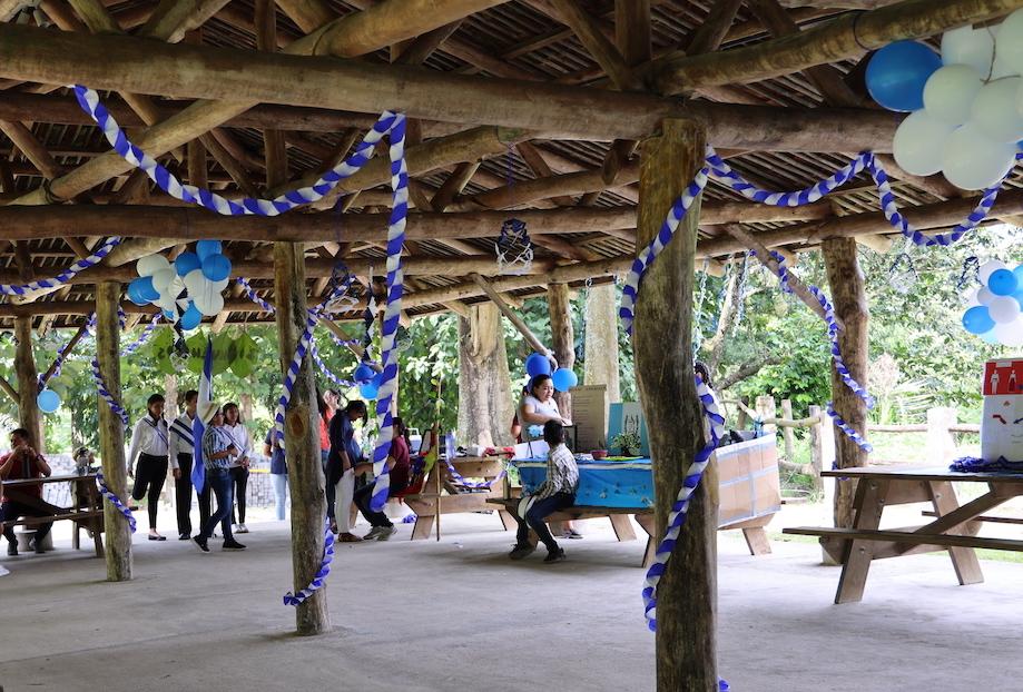 Celebrando la independencia de El Salvador!